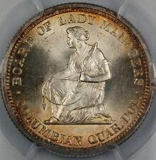 1893 Isabella Silver Quarter, PCGS MS-64 *Gem BU Commemorative Coin*