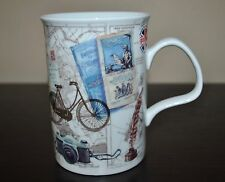 ROY KIRKHAM  Mug BICYCLE Camera Postcard Fine Bone China LANCASTER ENGLAND