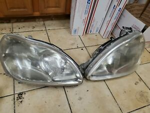 1999 2000 01 2002 MERCEDES-BENZ W220 S430 S500 LEFT RIGHT HID XENON HEADLIGHTS