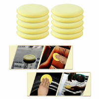 10x 5 Inch Round Pads Car Care Clean Wash Hand Soft Wax Sponge Pad/Buffer Pad