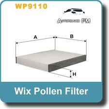 FILTRO ABITACOLO FORD FIESTA V - FUSION   -WIX FILTERS WP9110-