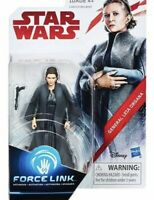 """Star Wars General Leai Organa Action Figure Force Link Hasbro 3.75"""" New Sealed"""