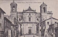 # VICOVARO: PIAZZA S. PIETRO E FACCIATA CATTEDRALE