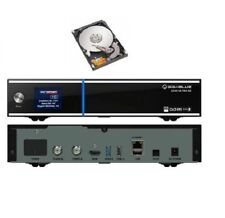 Gigablue Uhd Ue 4k 2x Fbc DVB-S2 Sintonizzatore Ultra HD E2 Pvr con 1TB Disco