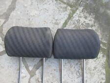 Kopfstützenbezüge schwarz KOP AUDI A6