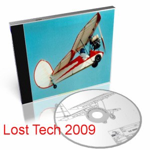 FLYING FLEA ULTRALIGHT AIRCRAFT PLANS ON CD PLUS EXTRAS