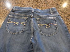 Cruel Rachel blue denim Jeans  Boot Cut Western Cow girl women's 5 S