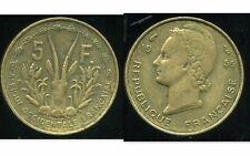 FRENCH WEST AFRICA - AFRIQUE OCCIDENTALE FRANCAISE 5 francs 1956 ( ca )