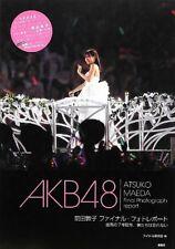 Atsuko Maeda AKB48 Final Photo Report Photo Collection Book
