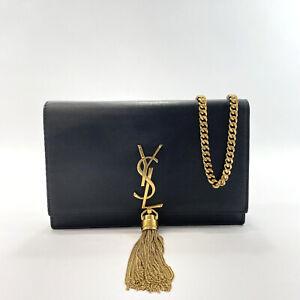 SAINT LAURENT PARIS Shoulder Bag 452159 C150J 1000 Classic Kate Chain Wallet