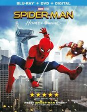 Spider-Man: Homecoming  NEW (BLU-RAY - DVD - DIGITAL) FREE SHIPPING!!!