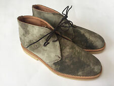 MARK MCNAIRY NEW AMSTERDAM ATAC CAMO CHUKKAS. SIZE 8. NEW WITH BOX.