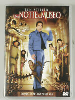 "PRL) DVD VIDEO ""UNA NOTTE AL MUSEO"" BEN STILLER F4-SITS 29939DS FILM MOVIE CINE"