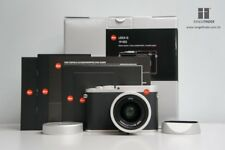 Brand New Leica Q Typ 116 - Silver Chrome Digital Camera (19022) Summilux 28mm