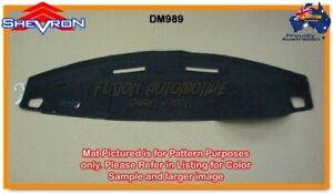 Black Dashmat for LAND ROVER Discovery 3 3/2005-9/2009 Dash Mat DM989