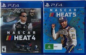 Nascar Heat 4 and Nascar Heat 5 Game Bundle PS4