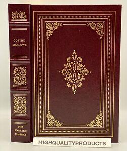 Grolier Harvard Classics FAUST DOCTOR FAUSTUS Goethe Marlowe Collectors Edition