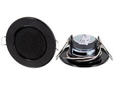 Mini Decke Einbaulautsprecher Metall Klemm Decken Einbau Lautsprecher schwarz
