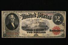 "1917 $2 Legal Tender Note FR 60 VERY FINE       "" REASONABLY PRICED"""