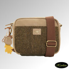 Hawkins Bag Shoulder Small Country Classics Collection Blue Tweed (lb42)