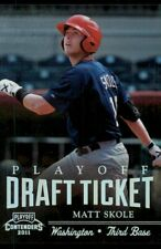 2011 Playoff Contenders Draft Ticket Tickets Matt Skole #DT98 RC 68/99