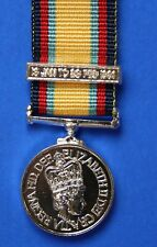 More details for british gulf war medal miniature - ribbon and bar 16 jan to 28 feb 1991 *[gulf]