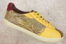 RARE Asics Onitsuka Tiger Lawnship 2009 Mustard Yellow Sneaker Shoe Mens 9.5