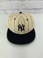 RARE Vintage 90's New York Yankees New Era Fitted Hat CAP Cooperstown Size 7 1/4