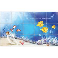 Kitchen Wallpaper Border Blue Design Aluminum Foil Self Adhesive Contact Paper