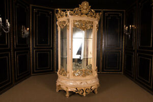 Monumental French Cabinet IN Style of The 18.Jhd. Height 240 CM