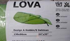 Ikea Lova Green Leaf Childrens Kids Bed Canopy Tent Decor New Factory Sealed J