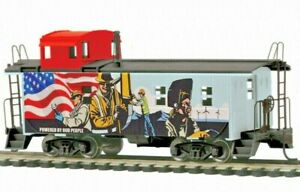 MTH 85-77018 Union Pacific Powered by Our People Steel Rear Cupola Caboose NIB