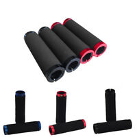 Pro Locking Foam Contour MTB Bike Bicycle Handlebar Grips Lock-On Single Clamps