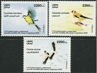 LEBANON MNH SET BIRDS 2019