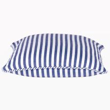 "Dandi Stripped Blue and White Cushion Cover 40x40cm 16x16"" AUS Seller & Stock"