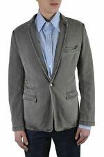 Dolce & Gabbana Men's Grey One Button Blazer Size US 38 IT 48