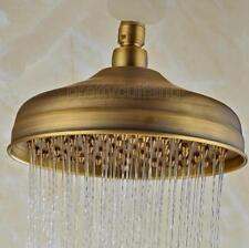 "8"" inch Round Antique Brass Rainfall Rain Bathroom Shower Head Psh022"