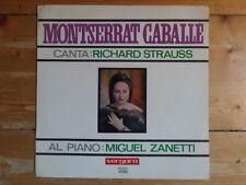 Montserrat caballe-canta: richard Strauss-Miguel Zanetti-Vergara Records
