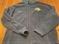 Columbia Sportswear Mens Size XL Full Zip Fleece Jacket W/Turtle Logo