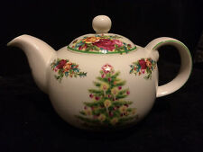 Royal Albert Old Country Roses Holiday Classic Teapot
