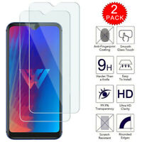 For LG W30 / W30 Pro - Premium HD Clear Tempered Glass Screen Protector [2-Pack]