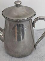 Vintage Oneida 18/8 Stainless Steel Coffee Tea Pot Carafe Serving