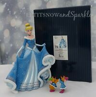2019 *NEW* Jim Shore DISNEY Showcase 4th in Holiday Princess Series Cinderella