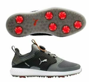 Puma Ignite Pwradapt Caged Disc Golf Shoes - Quiet Shade/Silver - Pick Size