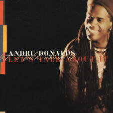 ANDRU DONALDS (POP/REGGAE) - LET'S TALK ABOUT IT [SINGLE] NEW CD