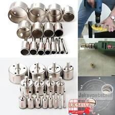 16Pcs 6-50mm Diamond Holes Drill Set Saw Cutter Tile Glass Marble Ceramic Bits