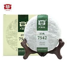 Pu 'er Tea Pu-erh Chinese Tea Black Tea 中国茶叶包邮 云南普洱 大益  7542经典标杆1701批普洱茶生茶150g