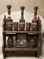 Jack Daniels  .3 Flasche. Gläser.  Geschenkset neu Unikat - Handmade.
