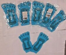 New Pro Source Yoga Gym Dance Sport Exercise Non Slip Fitness Sox. 6 Pairs