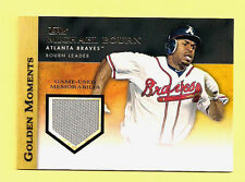 Michael Bourn 2012 Topps Golden Moments Game Used Memorabilia Card